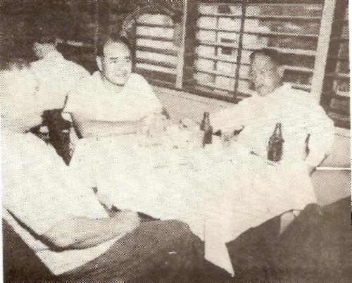 Judge Jose Manibusan, A.T. Bordallo and Vicente B. Martinez