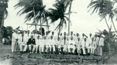 GUAM ROTARIANS AND FRIENDS 1940