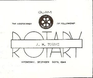 "March 1945 issue of ""The Rotarian"""