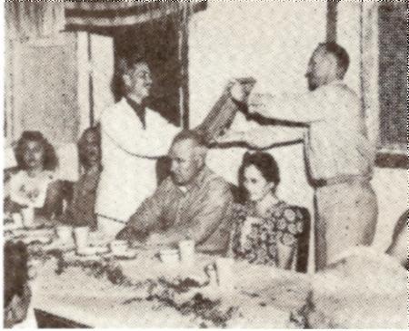 Charter Presentation (1945)