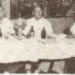 L to R: Simon Sanchez, James Butler, unidentified, and B.P. Carbullido
