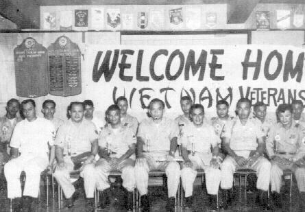At the Guam Liberation Day celebration in 1966, the Rotary club of Guam played host to 16 Guamanian servicemen, who were air-lifted from their units in South Vietnam to attend the event. One of the men received a previously earned U.S. Silver Star Medical at a ceremony during the celebration.
