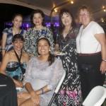 Rotary ladies at Rotary Dinner
